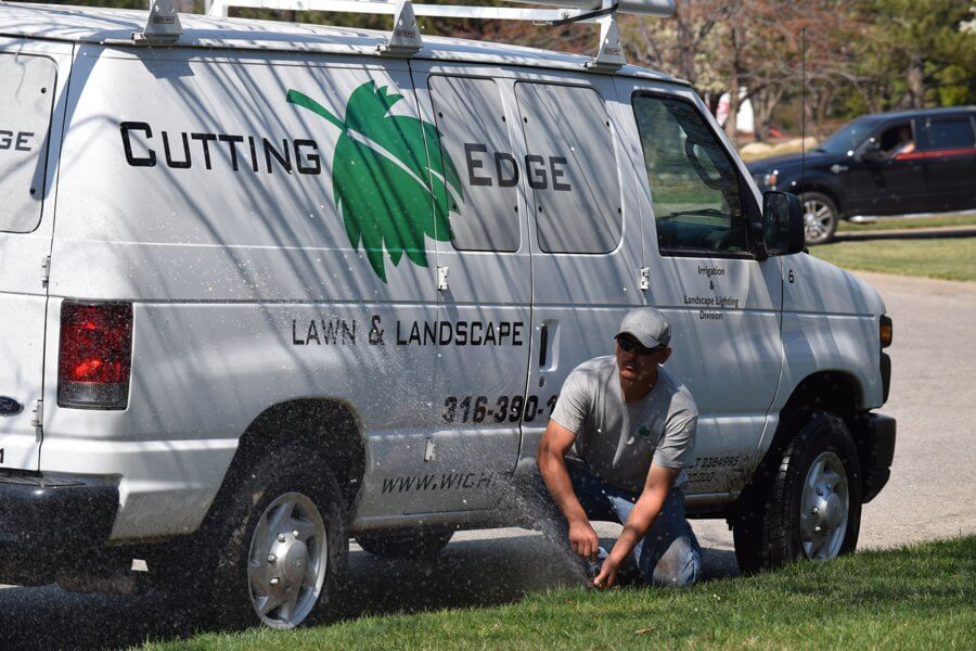Cutting Edge irrigation service Wichita