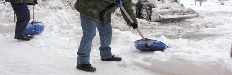 hire commercial snow removal